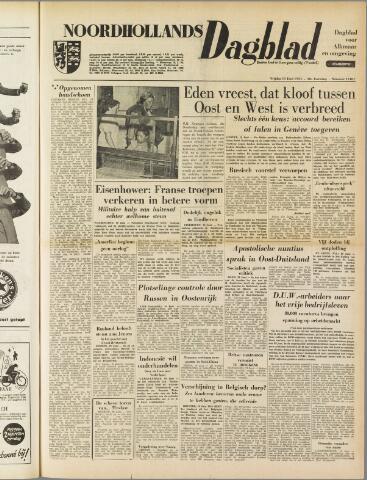 Noordhollands Dagblad : dagblad voor Alkmaar en omgeving 1954-06-11