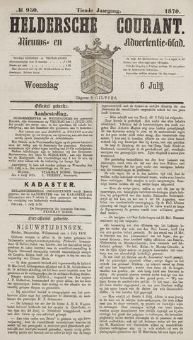 Heldersche Courant 1870-07-06