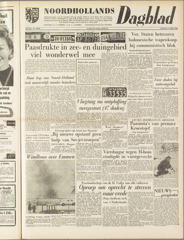 Noordhollands Dagblad : dagblad voor Alkmaar en omgeving 1958-04-08