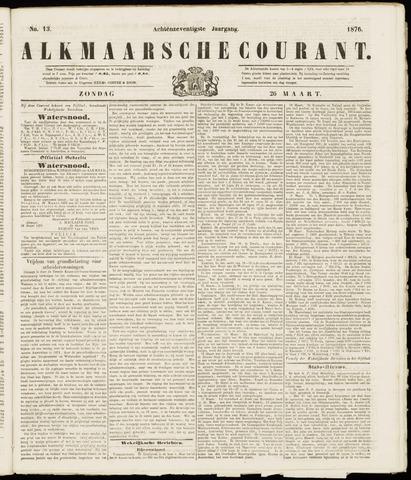 Alkmaarsche Courant 1876-03-26