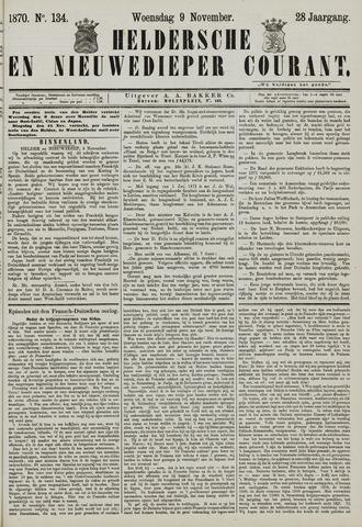 Heldersche en Nieuwedieper Courant 1870-11-09