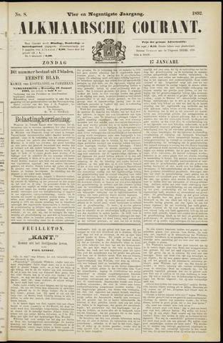 Alkmaarsche Courant 1892-01-17