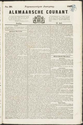 Alkmaarsche Courant 1867-07-28
