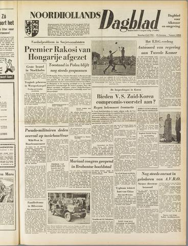 Noordhollands Dagblad : dagblad voor Alkmaar en omgeving 1953-07-06