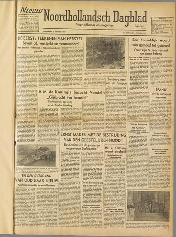 Nieuw Noordhollandsch Dagblad : voor Alkmaar en omgeving 1947-01-02