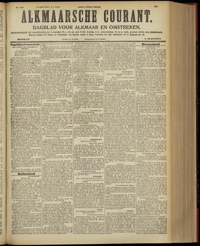 Alkmaarsche Courant 1928-08-07