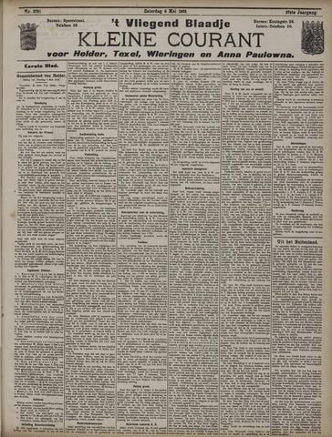 Vliegend blaadje : nieuws- en advertentiebode voor Den Helder 1909-05-08
