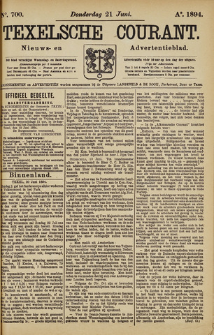 Texelsche Courant 1894-06-21