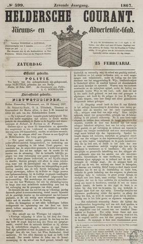 Heldersche Courant 1867-02-23