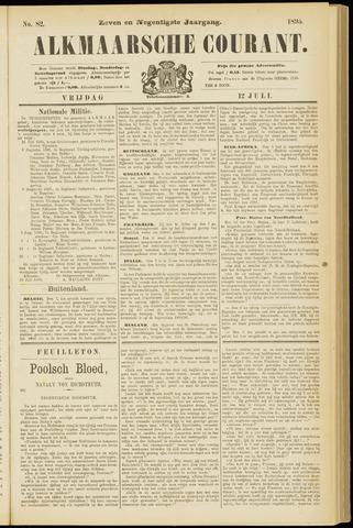 Alkmaarsche Courant 1895-07-12