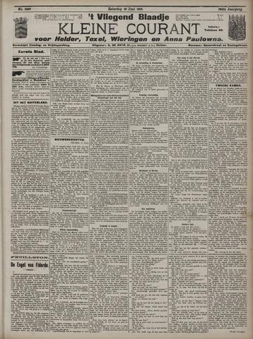 Vliegend blaadje : nieuws- en advertentiebode voor Den Helder 1910-06-18