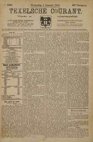 Texelsche Courant 1921