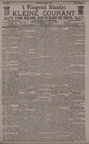 Vliegend blaadje : nieuws- en advertentiebode voor Den Helder 1895-01-30