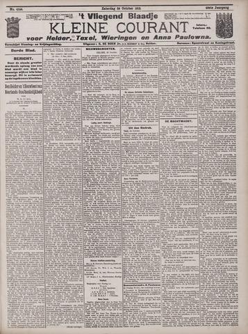 Vliegend blaadje : nieuws- en advertentiebode voor Den Helder 1912-10-26