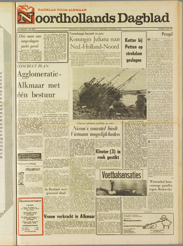 Noordhollands Dagblad : dagblad voor Alkmaar en omgeving 1969-05-16