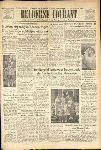 Heldersche Courant 1952-05-01