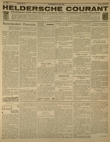 Heldersche Courant 1935-06-27
