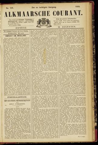 Alkmaarsche Courant 1884-08-24