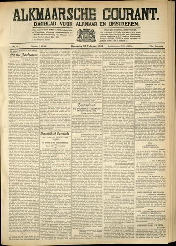 Alkmaarsche Courant 1933-02-22