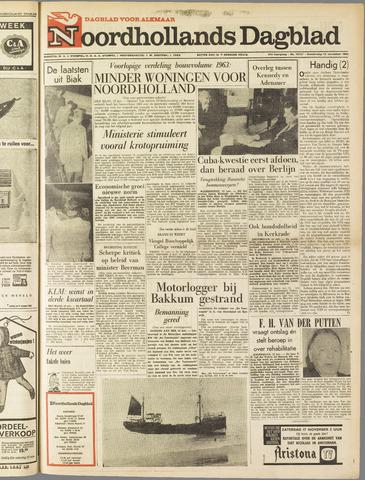 Noordhollands Dagblad : dagblad voor Alkmaar en omgeving 1962-11-15