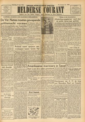 Heldersche Courant 1950-09-21