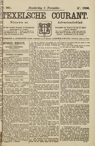 Texelsche Courant 1896-11-05