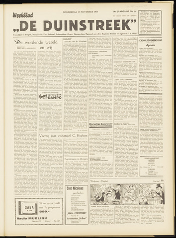 De Duinstreek 1964-11-19