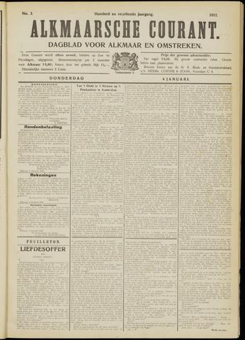 Alkmaarsche Courant 1912-01-04