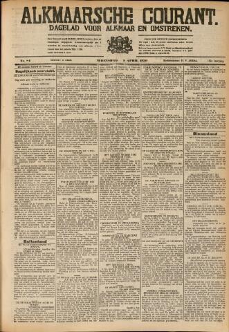 Alkmaarsche Courant 1930-04-09