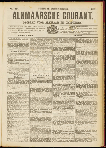 Alkmaarsche Courant 1907-05-29