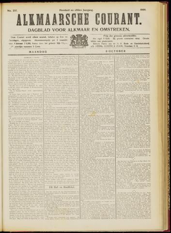 Alkmaarsche Courant 1909-10-11