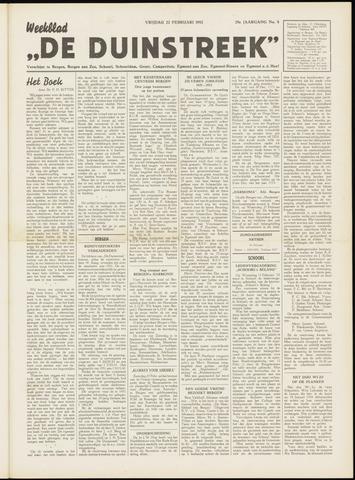 De Duinstreek 1952-02-22