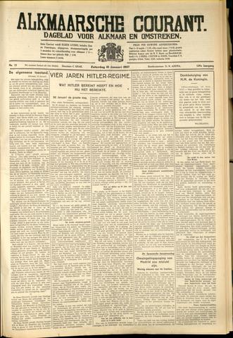 Alkmaarsche Courant 1937-01-16