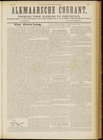 Alkmaarsche Courant 1915-09-10