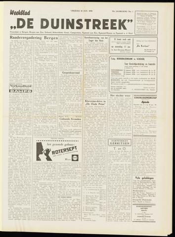 De Duinstreek 1958-01-10