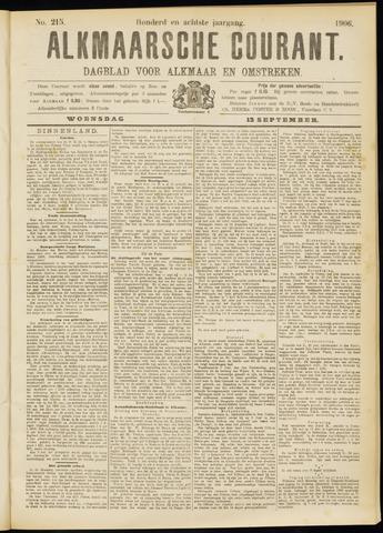 Alkmaarsche Courant 1906-09-12
