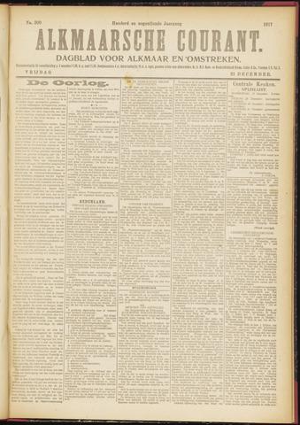 Alkmaarsche Courant 1917-12-21