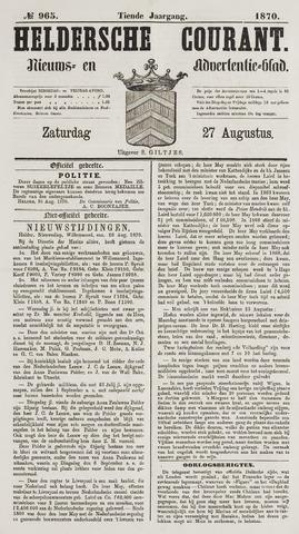 Heldersche Courant 1870-08-27