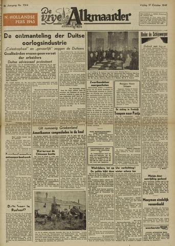 De Vrije Alkmaarder 1947-10-17