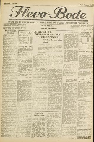 Flevo-bode: nieuwsblad voor Wieringen-Wieringermeer 1948-07-07