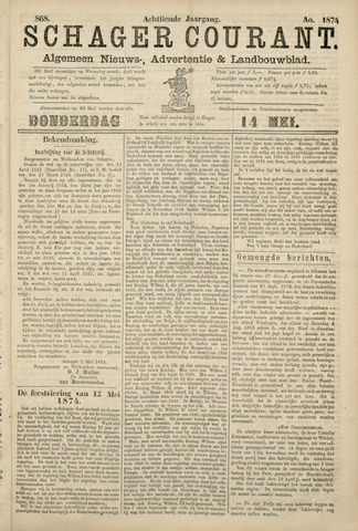 Schager Courant 1874-05-14