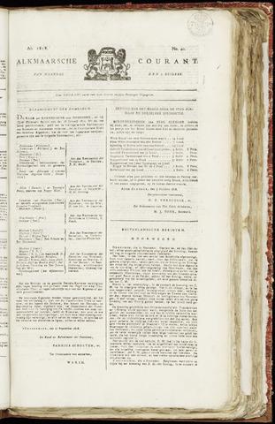 Alkmaarsche Courant 1818-10-05
