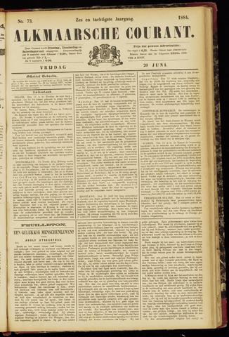 Alkmaarsche Courant 1884-06-20