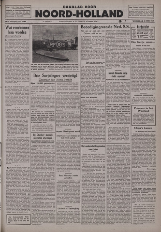 Dagblad Noord-Holland, Schager editie 1942-05-20