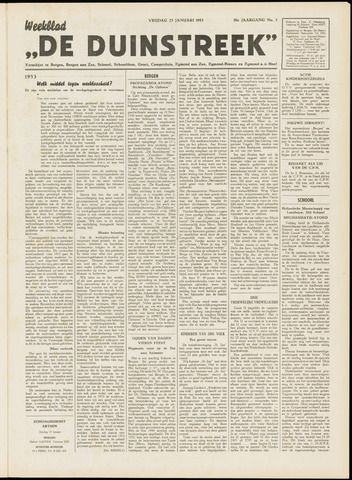 De Duinstreek 1953-01-23