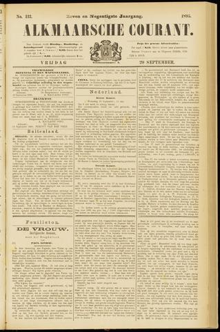 Alkmaarsche Courant 1895-09-20