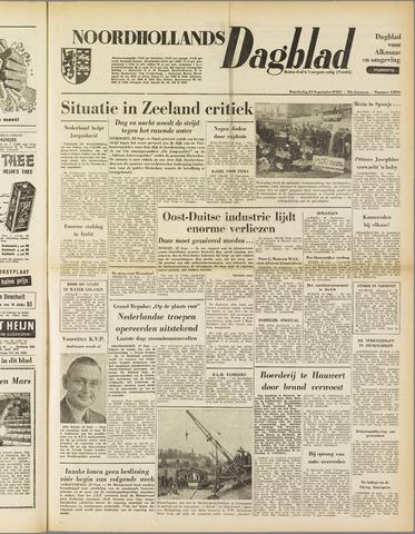 Noordhollands Dagblad : dagblad voor Alkmaar en omgeving 1953-09-24