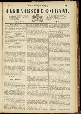 Alkmaarsche Courant 1881-06-10