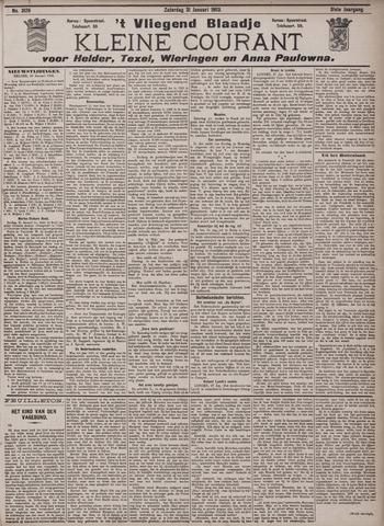Vliegend blaadje : nieuws- en advertentiebode voor Den Helder 1903-01-31