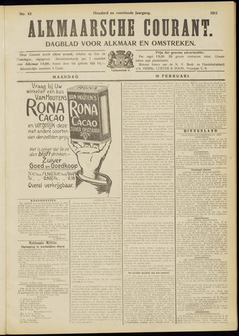 Alkmaarsche Courant 1912-02-19